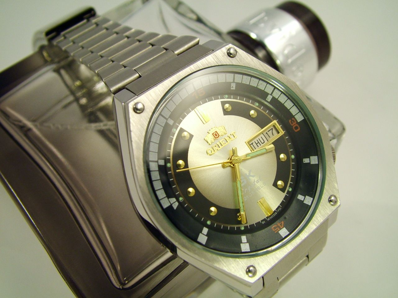 ORIENT SK Crystal - YouTube