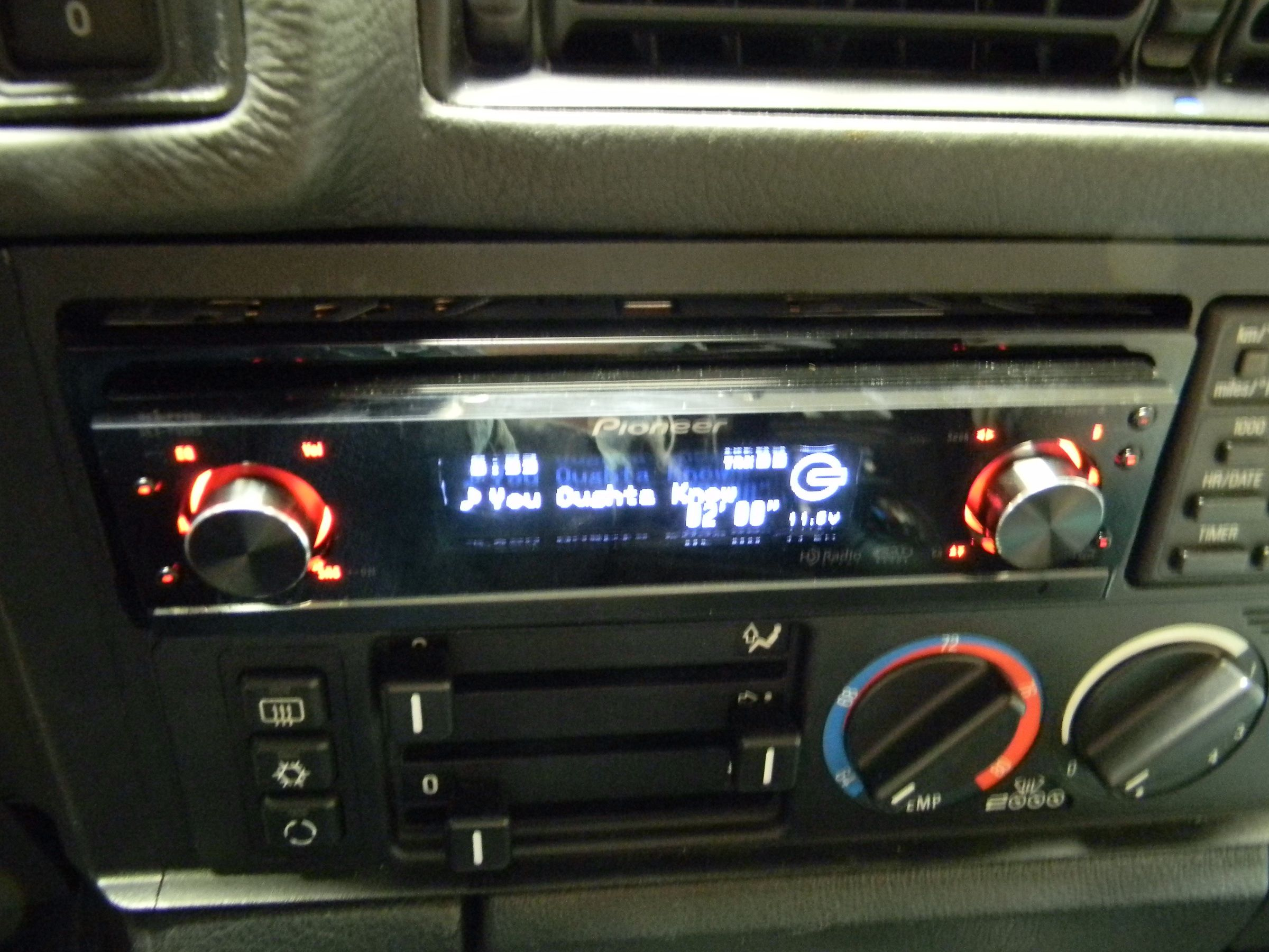 Bmw E34 Stereo Install Car Audio Diymobileaudio Com
