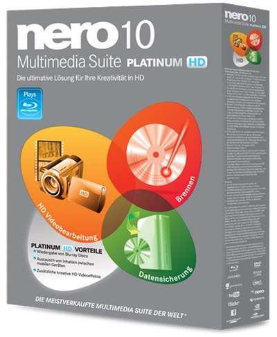 Nero Multimedia Suite Platinum HD v10.6.11800
