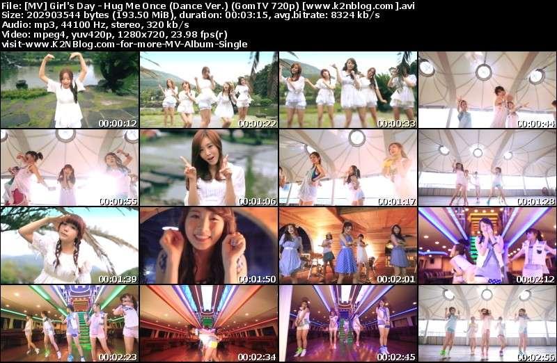 Girl's Day - Hug Me Once (Dance Ver.) (GomTV 720p) MV Thumbnail